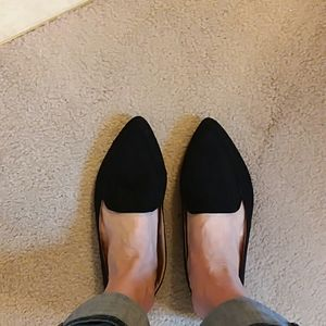 Time and Tru black loafers size 9.5